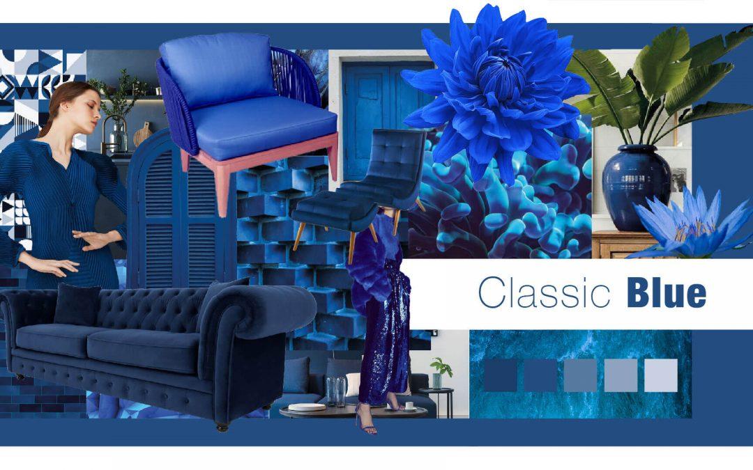 Como a cor Pantone Classic Blue pode inspirar suas coleções de moda